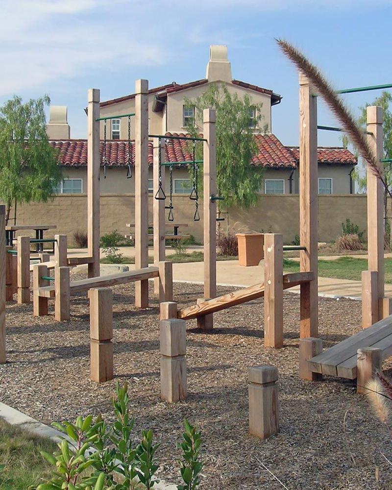 Siłownia ogrodowa outdoor fitness w domu